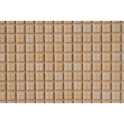 Beige Glass Mosaic Tile Sheet