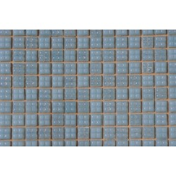 Pastel Blue Glass Mosaic Tile