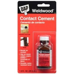 CONTACT CEMENT BOTTLE-3 OZ/TAN