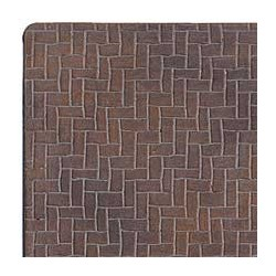 Latex Herringbone Brick