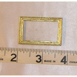 PICTURE FRAME, SM RECT, GOLD COLOR