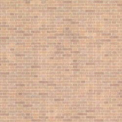 6 pack 1/2 Scale Wallpaper: Old Red Bricks (18 X 12)