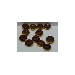 CHOCOLATE COVERED DONUTS S/12