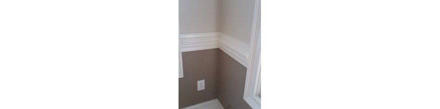 Chair Rail & Wainscoting