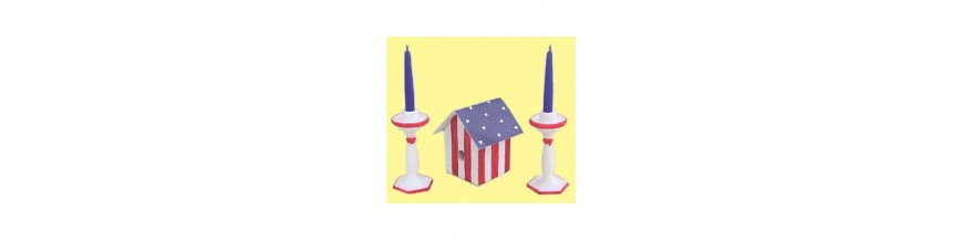 July 4th Dollhouse Miniatures