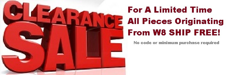 August W8 Clearance Sale